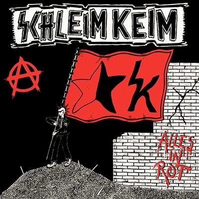 SCHLEIMKEIM - Alles In Rot EP (Black)