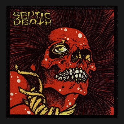 SEPTIC DEATH - Crossed Out Twice Patch