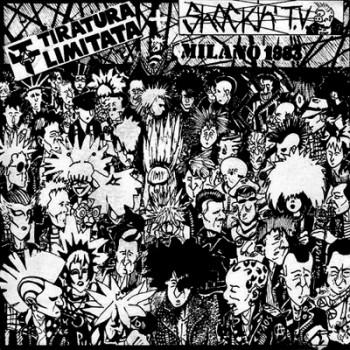SHOCKIN´ T.V. / TIRATURA LIMITATA -Milano 1983 Split EP