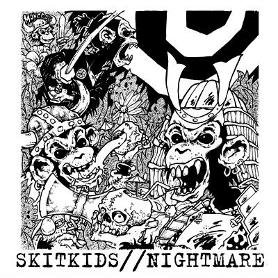 SKITKIDS / NIGHTMARE - Split EP