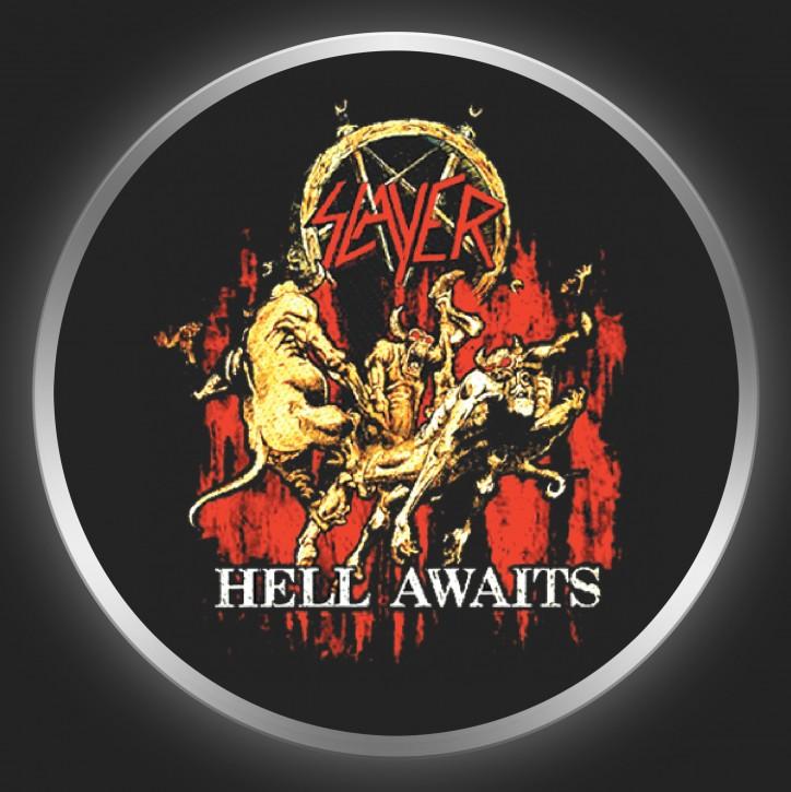 SLAYER - Hell Awaits Button