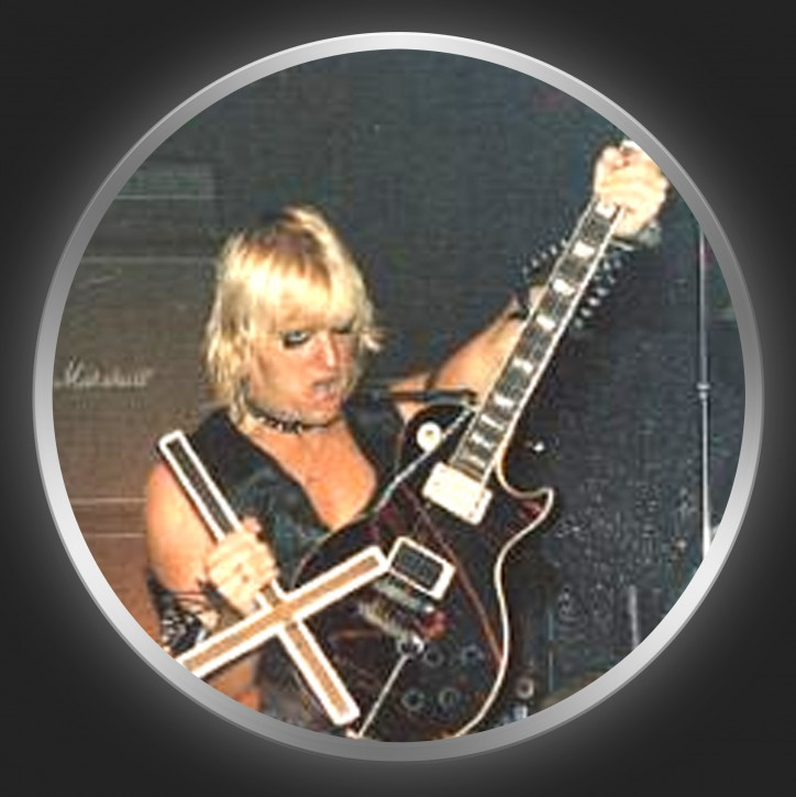 SLAYER - Jeff Hanneman Button