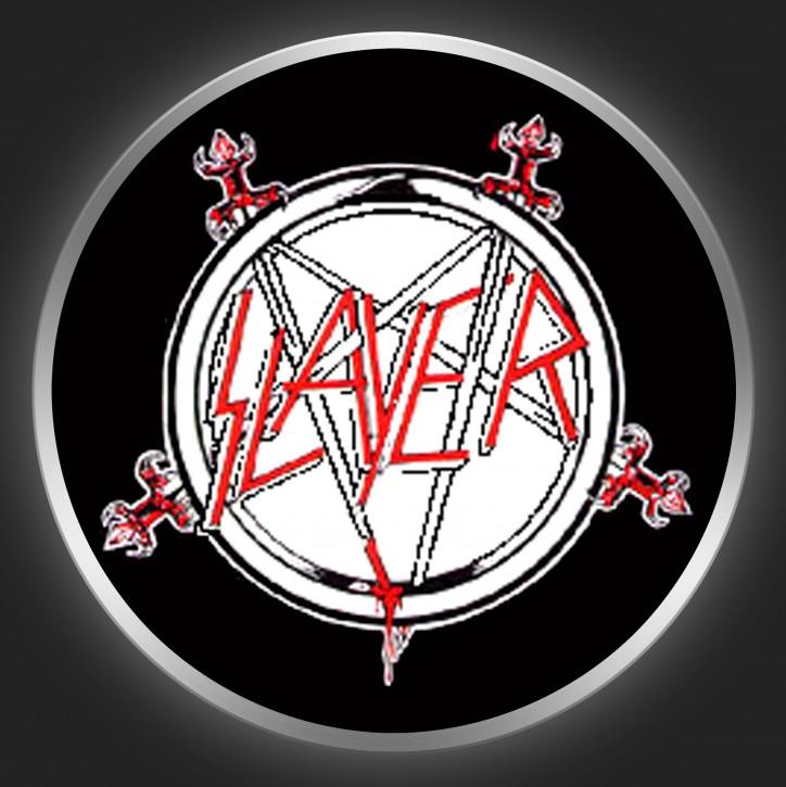 SLAYER - Pentagram 1 Button