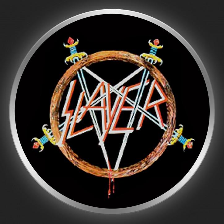 SLAYER - Pentagram 2 Button