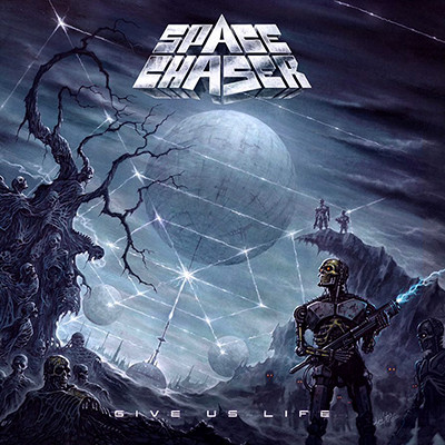 SPACE CHASER - Give Us Life LP (Purple / Black Marbled)