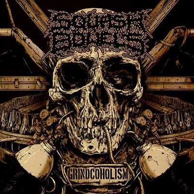SQUASH BOWELS - Grindcoholism LP (Red)