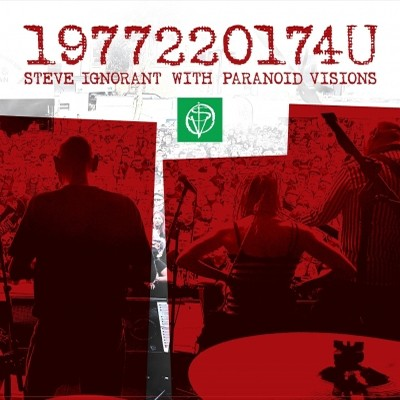 STEVE IGNORANT w / PARANOID VISIONS - 1977220174U LP (Red)