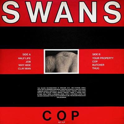 SWANS - Cop LP
