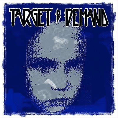 TARGET OF DEMAND / STAND TO FALL - Split LP (Three Colour Striped: Transparent Green / Red / Yellow) PRE-ORDER