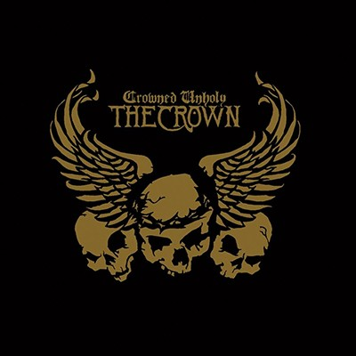 THE CROWN - Crowned Unholy LP (Opaque Golden Yellow Marbled)