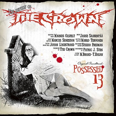 THE CROWN - Possessed 13 LP (Cool Grey Marbled)