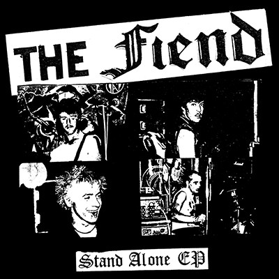THE FIEND - Stand Alone EP (Two Colour Split: Milky Clear Outside / Gold Inside) PRE-ORDER