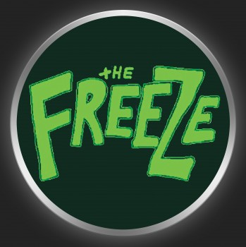THE FREEZE - Green Logo On Black Button