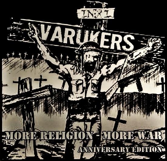 THE VARUKERS - More Religion - More War (Anniversary Edition) LP (Blue)