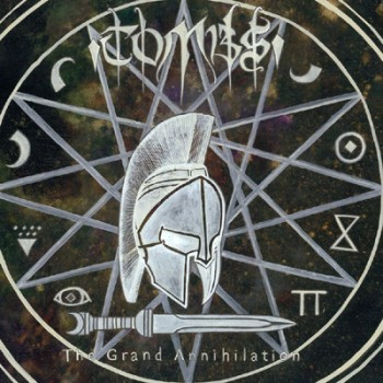 TOMBS - The Grand Annihilation LP (Ivory / Grey Marbled)