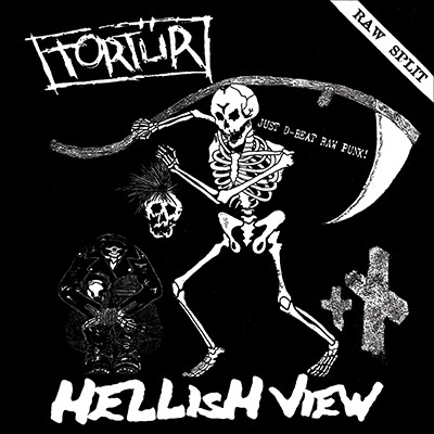 TORTÜR / HELLISH VIEW - Raw Split LP