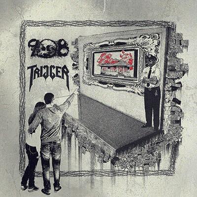 TRIGGER / 908 - Split EP (Transparent Green)