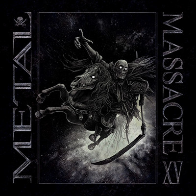 V.A. - Metal Massacre XV Comp. LP (Night Blue Marbled)