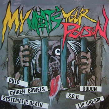 V.A. - My Meat´s Your Poison Comp. LP (Red)