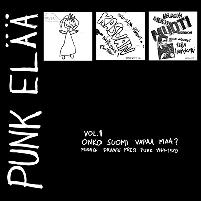 """V.A. - Punk Elää Vol. 1 Onko Suomi Vapaa Maa ? 3 x 7"""" Box Set"""