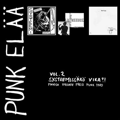 """V.A. - Punk Elää Vol. 2 Systeemissäkö Vika ?! 3 x 7"""" Box Set"""