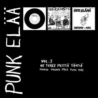 """V.A. - Punk Elää Vol. 3 Ne Tekee Meistä Tähtiä 3 x 7"""" EP Box Set"""