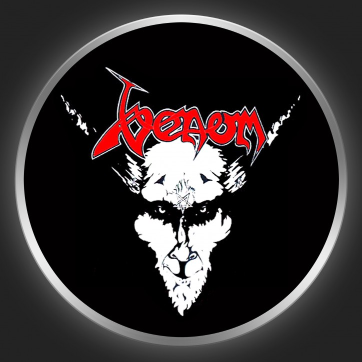 VENOM - Black Metal 2 Button