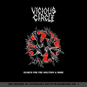 VICIOUS CIRCLE - Search For The Solution & More 2 x LP (White)