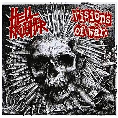 VISIONS OF WAR / HELLKRUSHER - Split EP (Red)