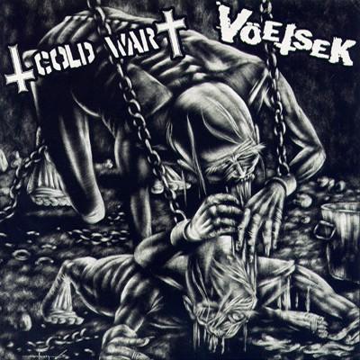 VÖETSEK / COLD WAR - Split EP