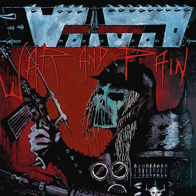 VOIVOD - War And Pain LP (Steel-Blue / Grey Marbled)
