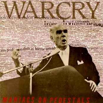 WARCRY - Maniacs On Pedestrals LP