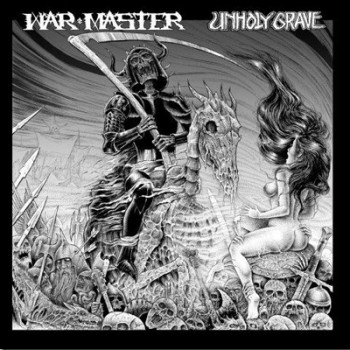 WAR MASTER / UNHOLY GRAVE - Split LP