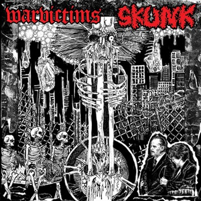 WARVICTIMS / SKUNK - Split EP