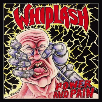 WHIPLASH - Power And Pain LP (Yellow)