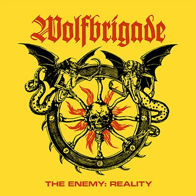 WOLFBRIGADE - The Enemy: Reality LP (Black)