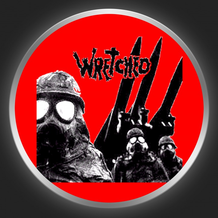 WRETCHED - EP Cover On Red Button