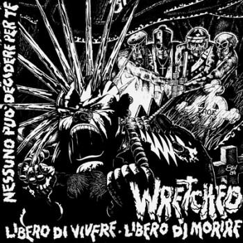 WRETCHED - Libero Di Vivere, Libero Di Morire LP (Yellow)