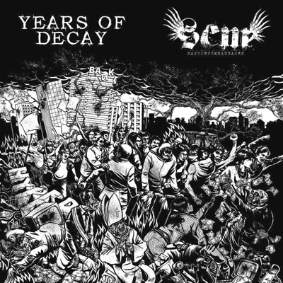 YEARS OF DECAY / SAND CREEK MASSACRE - Split LP