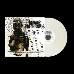 ANAAL NATHRAKH - When Fire Rains Down From The Sky, Mankind Will Reap As It Has Sown LP (Clear Fog White Marbled)