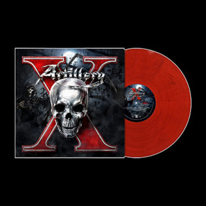 ARTILLERY - X (Blood Red / Blue Marbled)