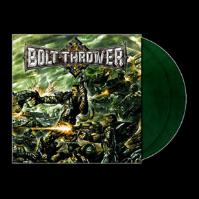 "BOLT THROWER - Honour Valour Pride 2 x LP (Clear ""Armory"" Green Marbled)"