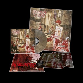 CANNIBAL CORPSE - Gallery Of Suicide LP (Clear-Brown / Grey Marbled)