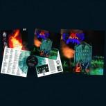 DARK ANGEL - Darkness Descends LP (Ultra Clear / Aqua Blue Splatter)