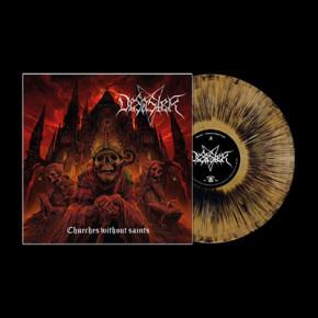"""DESASTER - Churches Without Saints LP (Gold """"Blackdust"""")"""