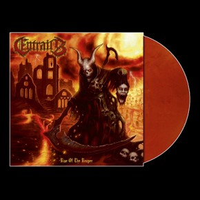 ENTRAILS - Rise Of The Reaper LP (Clear Orange / Purple Marbled)