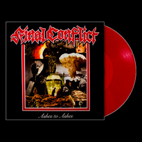 FINAL CONFLICT - Ashes To Ashes LP (Red)