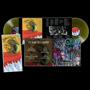 GRIEF - Come To Grief (Extended) 2 x LP (Swamp Green)