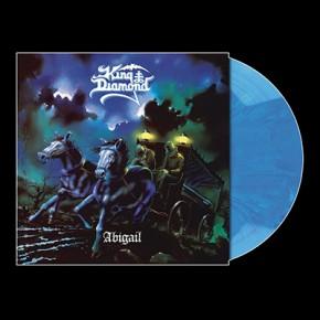 KING DIAMOND - Abigail LP (Opaque Light Blue Marbled)