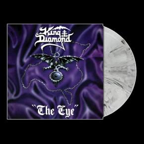 KING DIAMOND - The Eye LP (White / Black Marbled)